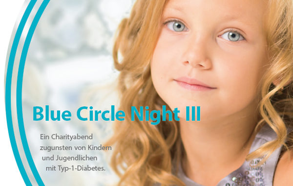 Blue Circle Night